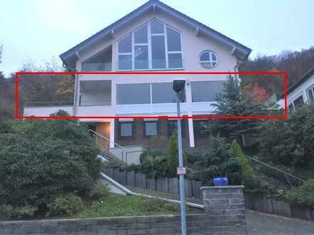 Erstbezug nach Sanierung: exklusive 3-Zimmer-Whg mit EBK und zwei Terrassen in Bestlage von Bingen