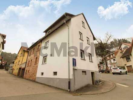 Hochwertige Doppelhaushälfte für Singles oder junge Paare mit Garten im Norden Baden-Württembergs