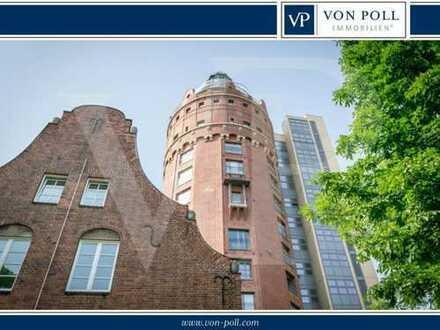 Westend: Außergewöhnliches Wohnen im ehemaligen Wasserturm!