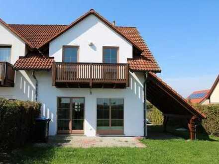 Einfamilienhaus-Doppelhaushälfte Nähe Grimma zu vermieten