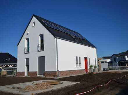 Erstbezug einer attraktiven Obergeschosswohnung mit schicker Dachterrasse in Worpswede