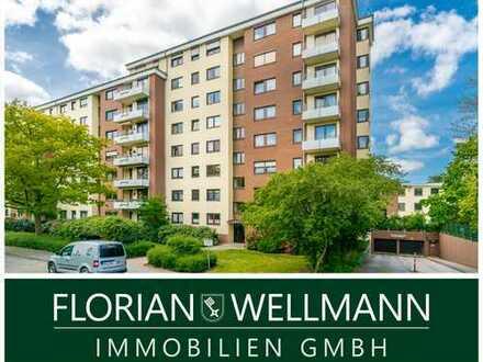 Bremen - St. Magnus   Großzügige 3 Zimmer Endetagen-Wohnung mit 2 Balkonen und schönem Ausblick!