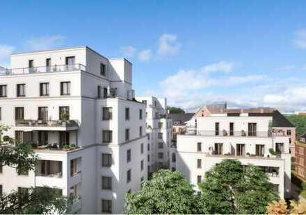 Stilvolle, 2-Zimmer-Neubauwohnung mit Balkon und EBK in Eppendorf