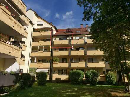 *Komfortable 2 ZKB mit Westbalkon in Regensburg - Westenviertel !*