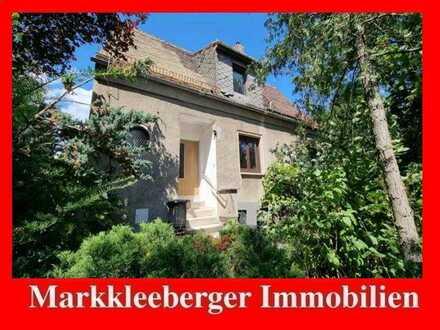 Einzigartiges Grundstück in Leipzig- HOLZHAUSEN mit sanierungsbedürftigem Einfamilienhaus