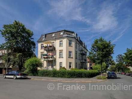 Leubnitz-Neuostra - schöne 3-Zi.-Wohnung mit Balkon in ruhiger Lage