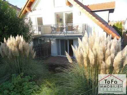 ToFa: schöne Terrassen-Garten-Maisonettewohnung im Neubaugebiet Ebersheim- max. 3 Personen