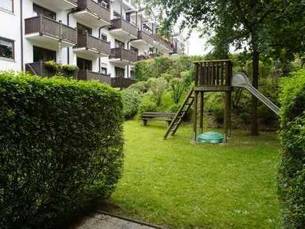 Gepflegte EG-Wohnung mit 2 Zimmern und Terrasse