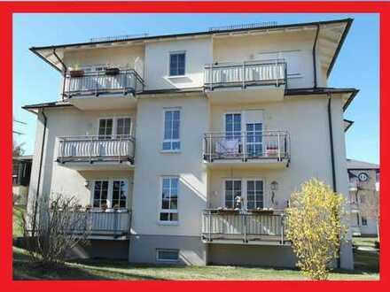 Gemütliches Wohnen mit Morgensonne-Balkon, Wohnküche, Tagelichtbad. 62,87 qm im 1.OG + Stellplatz