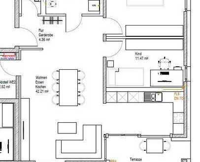 Moderne 3-Zimmer-Eigentumnswohnung mit Gartenanteil in ruhiger Lage in Knittlingen