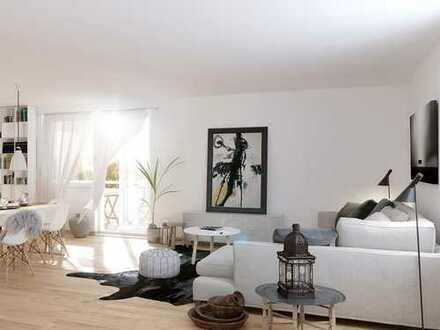Herrliche 3-Zimmer-Wohnung mit Balkon in familienfreundlicher Umgebung mit großzügigen Grünflächen