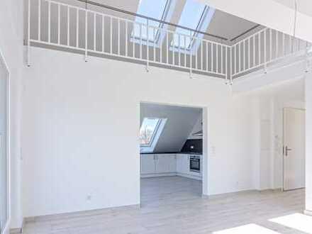 Neubau: Moderne Galeriewohnung mit Balkon in S-Vaihingen