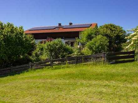 Ländlicher Wohnsitz in ruhiger Lage für Natur- und Gartenliebhaber