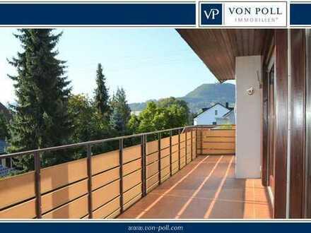 Helle Wohnung mit großem Balkon!