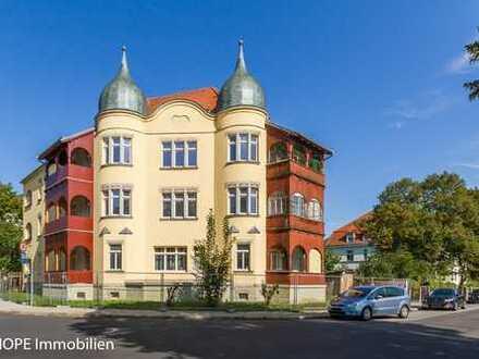 Schönes denkmalgeschütztes Mehrfamilienhaus in Dresden-Tolkewitz