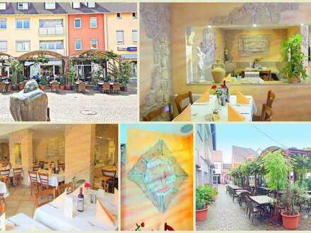 Altersgründe ! Volleingerichtetes Restaurant mit 150 Sitzplätzen und Wohnung im Zentrum von Edenkobe