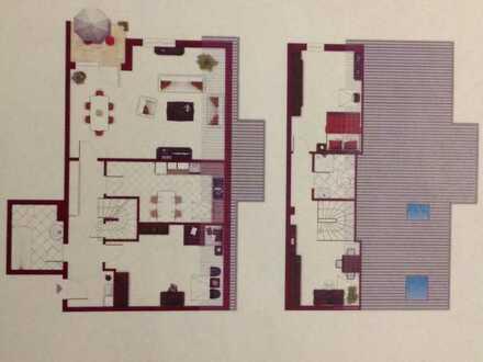 Helle vier Zimmer Wohnung in Mannheim, Seckenheim mit herrlichem Ausblick