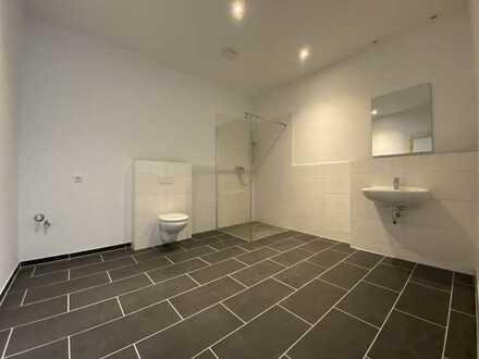 Wohnen, mit VELERO! kleine 1 Zimmerwohnung im Erdgeschoss mit ebenerdiger Dusche