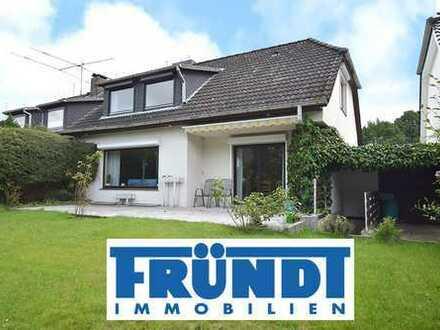 Der Grundriss dieses Volksdorfer Hauses wurde für die Familie mit Kind und Kegel geplant...