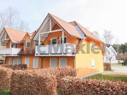 Lukrative Kapitalanlage direkt an der Ostsee: Gepflegte 3-Zi.-ETW mit Balkon in Strandnähe auf Rügen