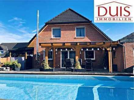 Freistehendes EFH mit Solaranlage, Pool und Kamin in DO-Mengede