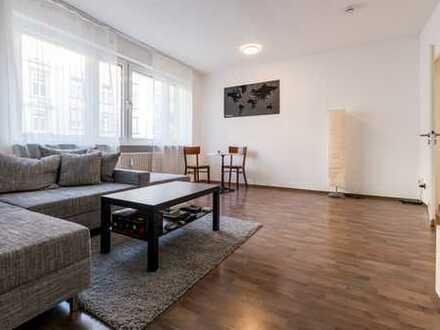 Exklusive, gepflegte 3-Zimmer-Wohnung mit Balkon und Einbauküche in Frankfurt Sachsenhausen