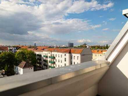 Dachgeschoss mit Terrasse: Ruhig und Lichtdurchflutet