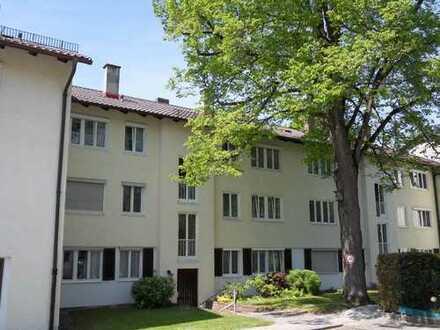 Haidhausen Ramersdorf ruhige sonnige 2 Zi EG Whg. mit Terrasse & Garten