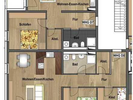 2.Obergeschoss - Wohnung D08