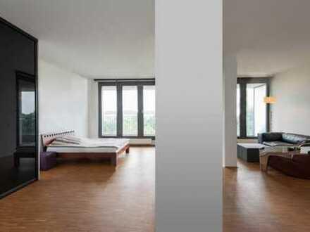 *** Rarität *** Provisionsfrei: Stilvolle Loft-Wohnung mit Terrasse & Blick über München