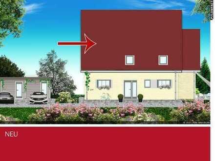 Neubau-Dachgeschosswohnung mit Süd-Waldblick