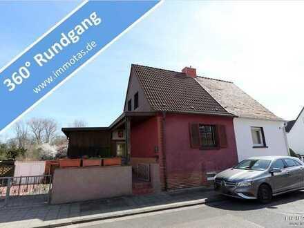 Doppelhaushälfte mit Erbpachtvertrag - renovierungsbedürftig