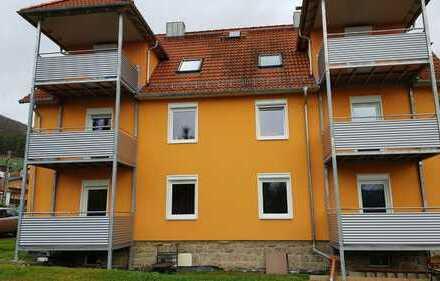 1-R.-Whg. mit Balkon, Stellplatz und Fußbodenhzg.