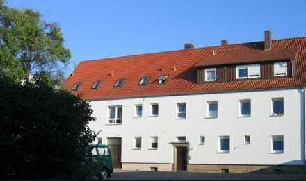Sonnige 2-Zi Whg, Ansbach zentral im Grünen, Südbalkon mit Gartenzugang