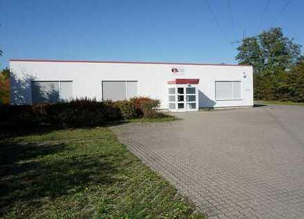 moderne Produktions/Lagerhalle mit Büros sucht neue Firma!