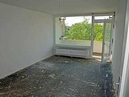 Top sanierte 2-Zimmer-Wohnung mit Balkon in Offenbach, zentrumsnah