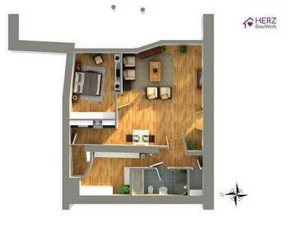 Eine Wohnung zum verlieben.... !