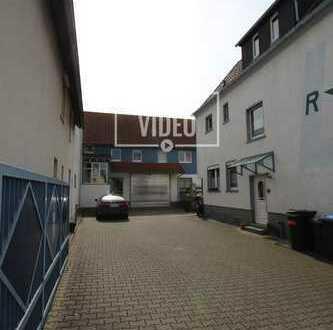 Provisionsfrei! * Vielseitige Halle mit freist. 1-Fam.-Haus nahe Bad Vilbel Main-Kinzig-Kreis *