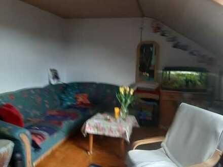 Helle, gepflegte 2-Zi-DG-Wohnung in ruhiger Wohnlage in Giengen