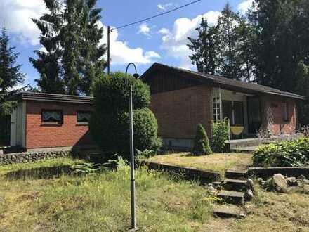Kleines, einfach ausgestattetes Ferienhaus in guter Lage
