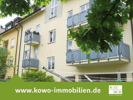 Attraktive DG-Wohnung mit Terrasse u. Stellplatz in ruhiger Wohnsiedlung - Mockau