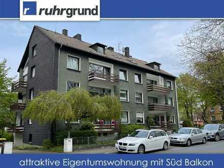 Helle Eigentumswohnung mit großem Süd Balkon