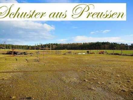 Schuster aus Preussen - ca. 5.584 m² großes Baugrundstück - teilbar - in ruhiger Ortslage und Bes...