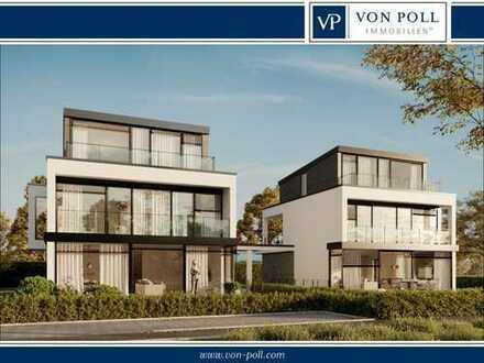 Direkt an der Würm: Luxuriöse Villa im Bauhausstil in Bestlage