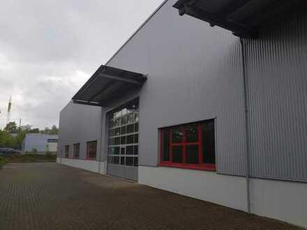 Modernisierte Industriehalle mit neuem Anbau(2019)