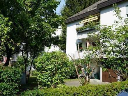Wohnen im Grünen - 2-Zimmer-Eigentumswohnung mit Loggia in verkehrsberuhigter Lage/ Inzlingen