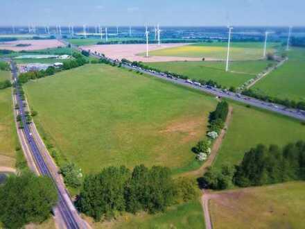 Voll erschlossene, 13 ha große Industriefläche direkt an der BAB 24 zu verkaufen.
