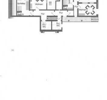 Waldrandrandgelegene 3-Zimmer-Wohnung zzgl. großer Wohnküche zu vermieten