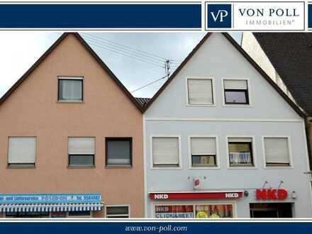 Gepflegtes, komplett vermietetes Wohn- und Geschäftshaus in zentralster Lage