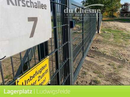 Lagerplatz Lagerflächen Containerlager ca. 2200 qm in Ludwigsfelde